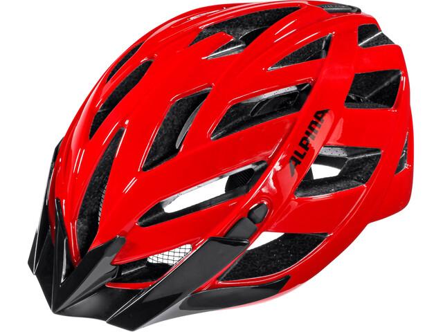 Alpina Panoma Classics Cykelhjälm röd